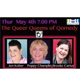 Poppy and the Queer Queens of Qomedy