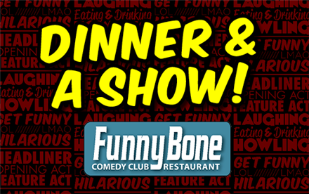 Nitro Comedy Tour Dinner & Show Package