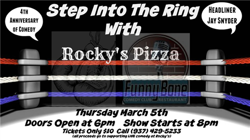 Rocky's Pizza Benefit