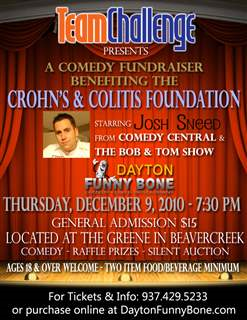 Crohn's & Colitis Benefit with Josh Sneed
